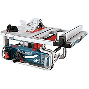 Bosch Gts1031 10 Inch Portable Jobsite Table Saw Power Table Saws Amazon Com Jobsite Table Saw Best Table Saw Table Saw