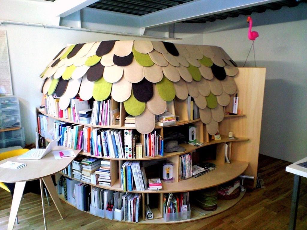 Public Bookshelf Contemporary Modern Design