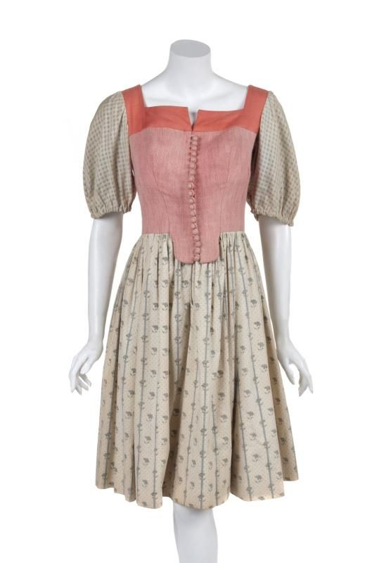 THE SOUND OF MUSIC LIESL DO-RE-MI DRESS - Price Estimate: $8000 - $10000 #thesoundofmusic