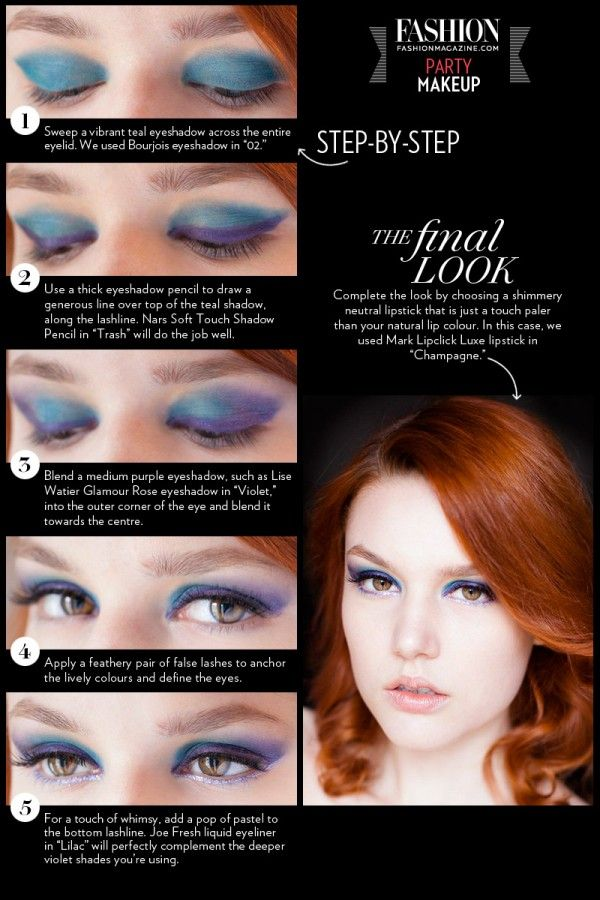Holiday Party Makeup Tutorial Step By