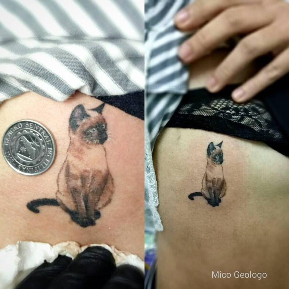 Siamese Cat Tattoo Tattoos Siamese Cat Tattoos Cat Tattoo Cat