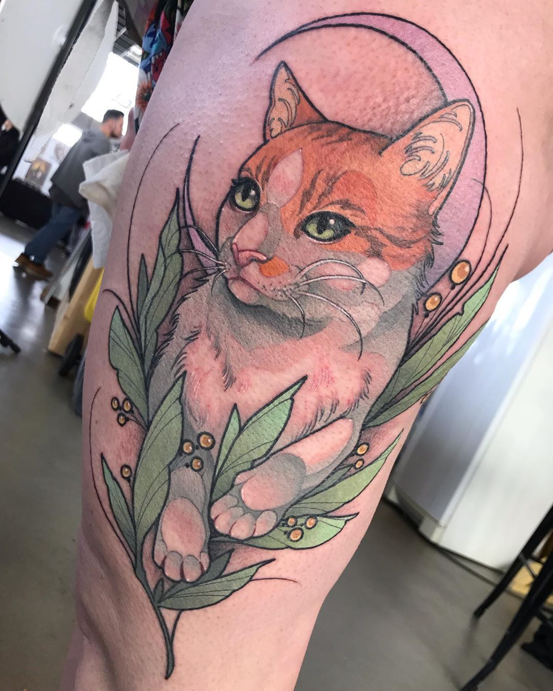 "Ariane Tattoo on Instagram ""//3ème place best of color"
