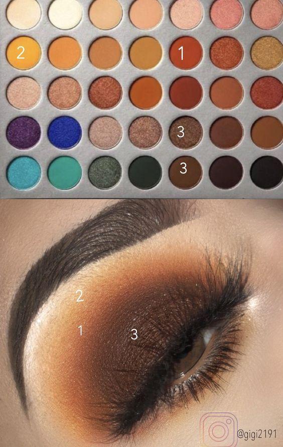 Nicki Minaj And Ariana Grande New Music Video Beds Eyeshadow Makeup Look - Luxury Makeup #eyeshadowlooks