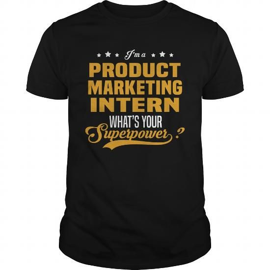 Cool And Awesome Product Marketing Intern Shirt Hoodie  Job And