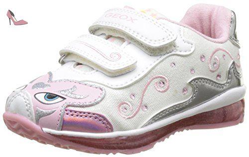 B Rishon A, Sneakers Basses Bébé Fille, Rose (DK Pink), 22 EUGeox