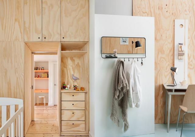 d corer son int rieur avec du bois contreplaqu 20 id es inspirantes mezzanine woods and. Black Bedroom Furniture Sets. Home Design Ideas