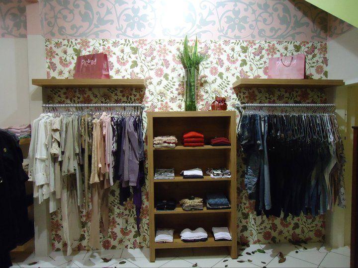 Armario Clothing Ghatkopar ~ Parede& Araras de Parede #ProjetoMeuCloset Decoraç u00e3o Loja Pinterest Joinville, Blogueiras