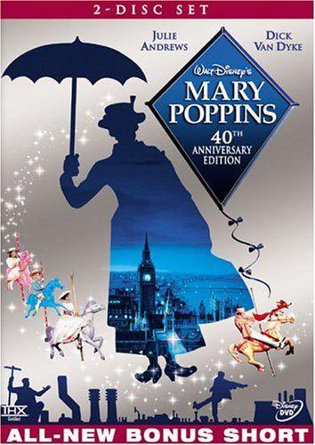 Mary Poppins Mary Poppins Movie Mary Poppins Dvd Mary Poppins