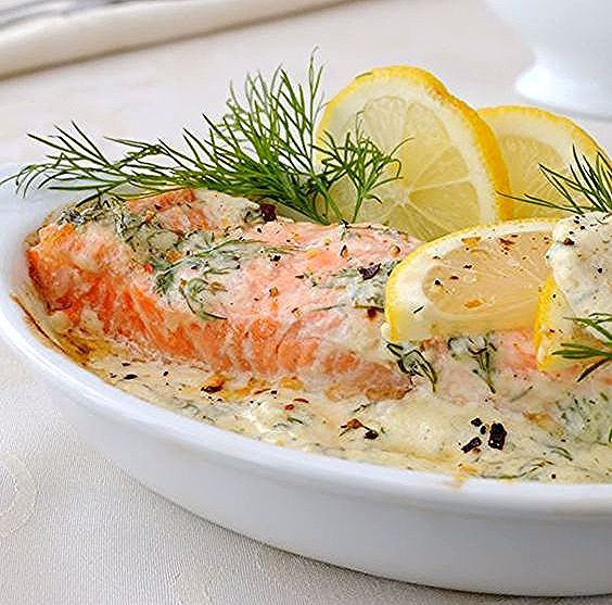 Photo of Salmon blanquette with Thermomix