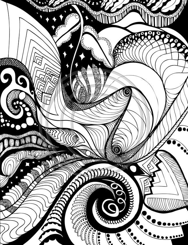 Inspiring Images In A Coloring Book For Big Kids