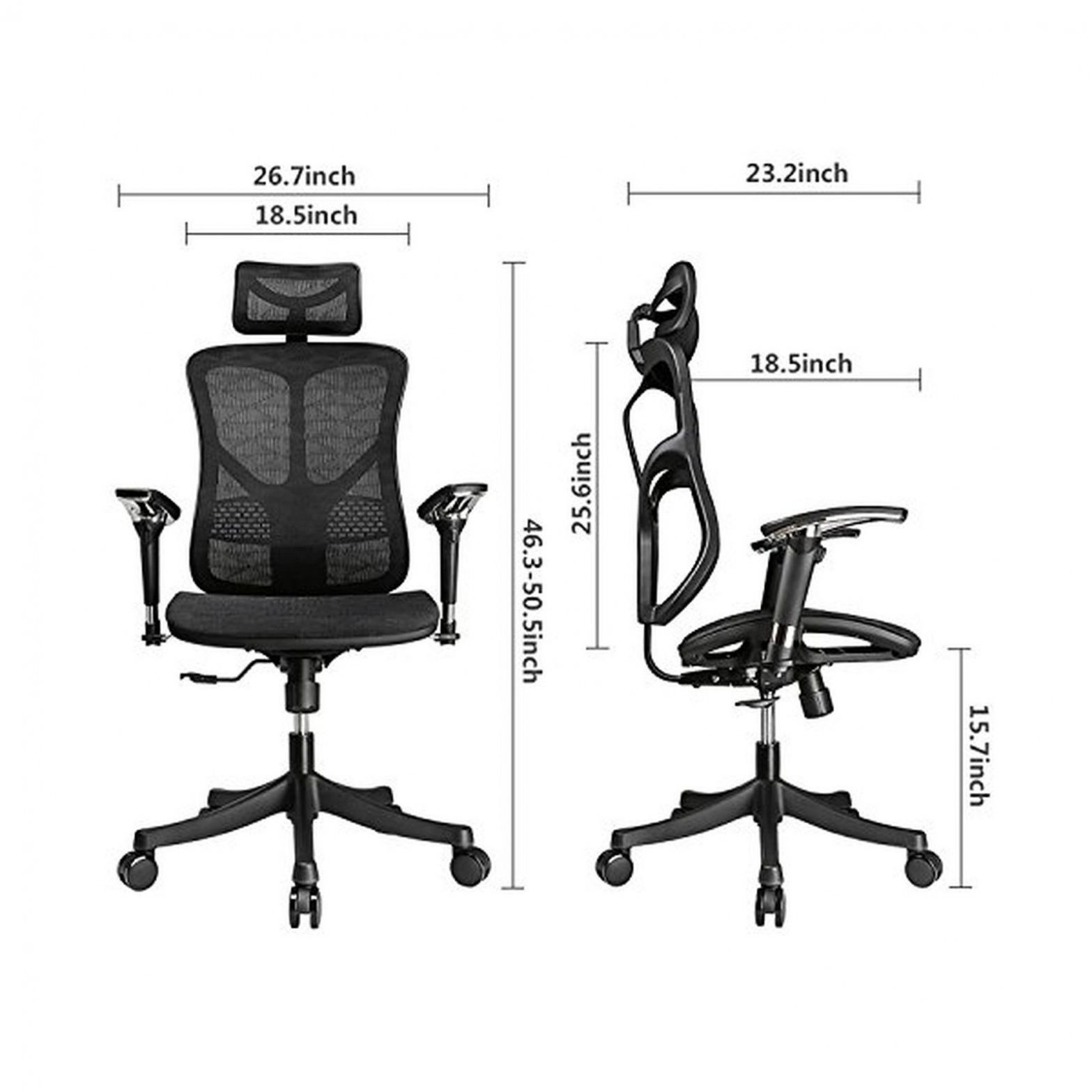 55 Argomax Mesh Ergonomic fice Chair Em Ec001 Home fice Furniture Ideas Check more