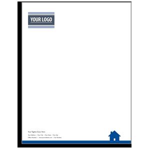 real estate letterhead 8 x 11 w envelopes agent marketing