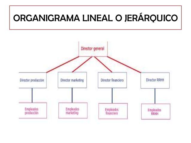 Ejemplo De Estructura Lineal O Jerarquica Organigrama