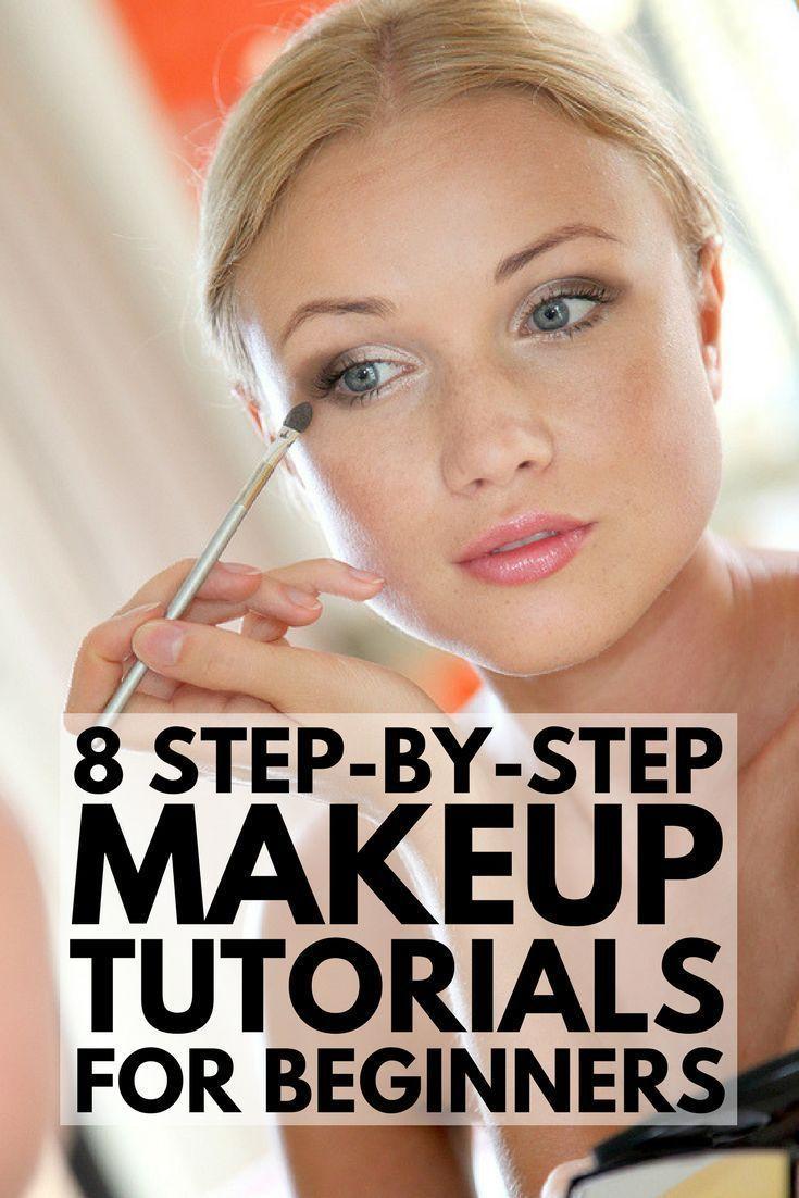 8 StepbyStep Makeup Tutorials for Beginners Makeup