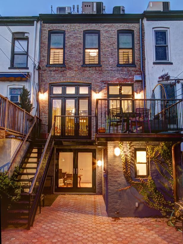 Brooklyn brownstone traditional outdoors from ben herzog for Brownstone home designs