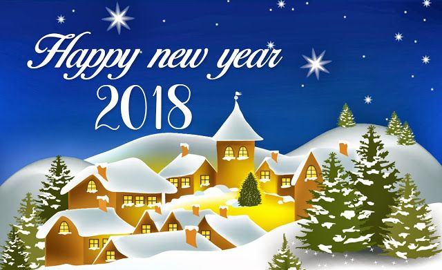 Happy New Year 2018 Messages Images Happy New Year Greetings New Year Greeting Cards Happy New Year Animation