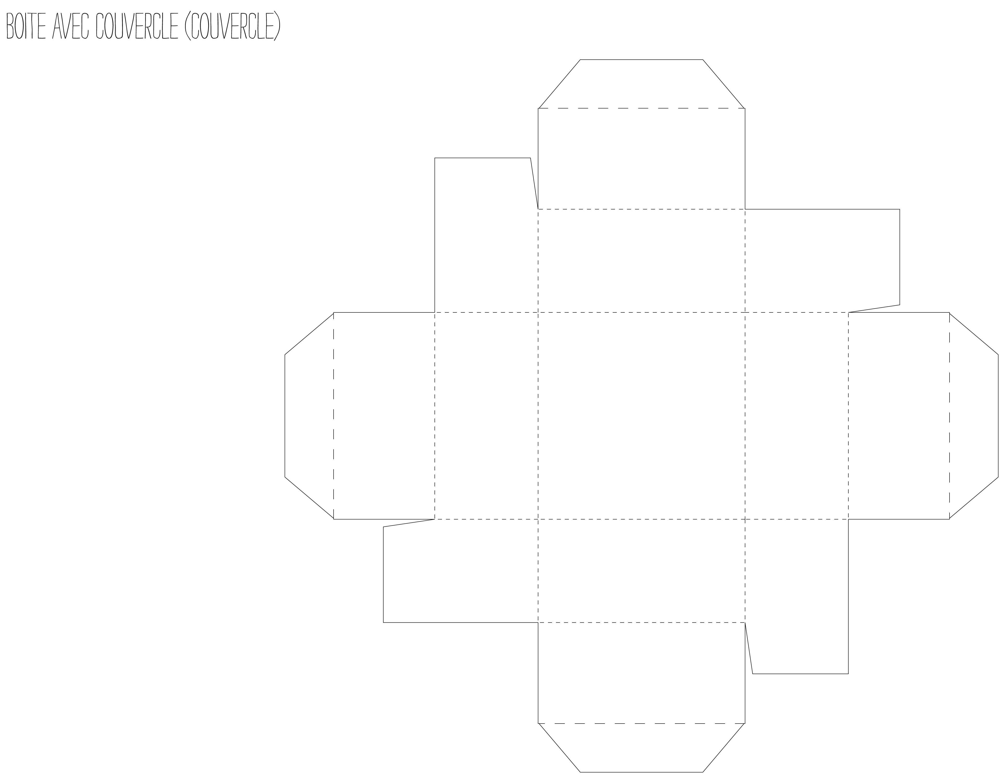 fabriquer boite carton avec couvercle images art artisanat pinterest couvercle boite. Black Bedroom Furniture Sets. Home Design Ideas