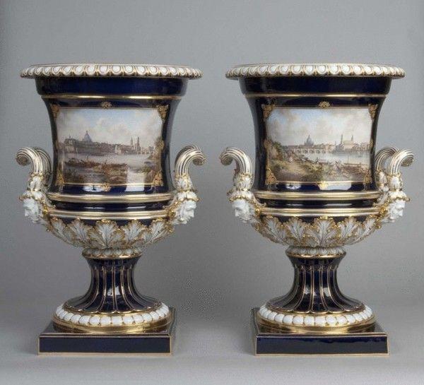 Meissen Vases Dresden Meissen And Minton Pinterest Porcelain