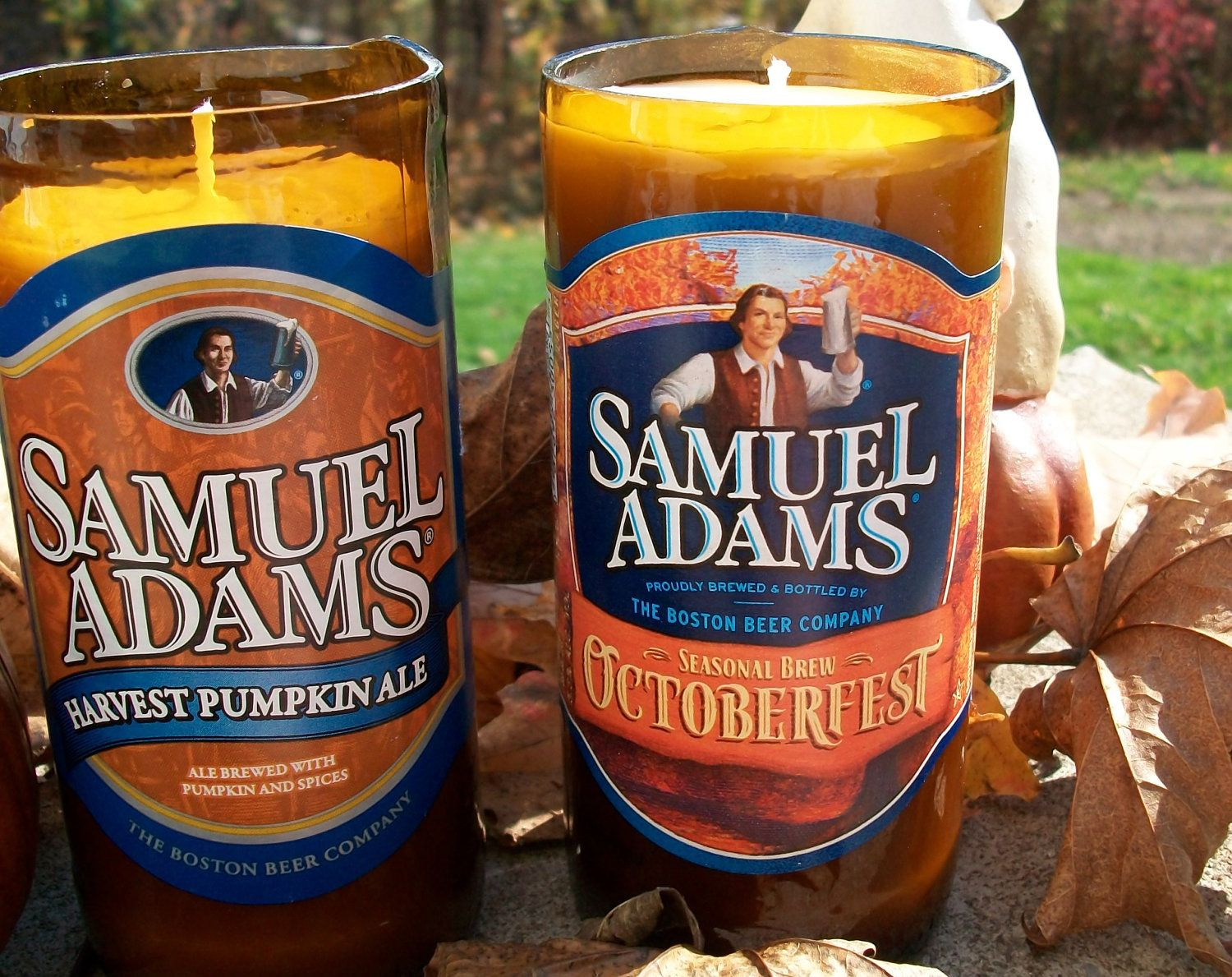 Fall into Autumn Scented Soy Candle in Upcycled Sam Adams ...