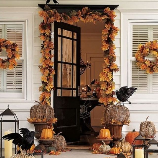 Pin by Jami  J Slaughter on All Things Pumpkin!!! Pinterest - fun halloween decorating ideas