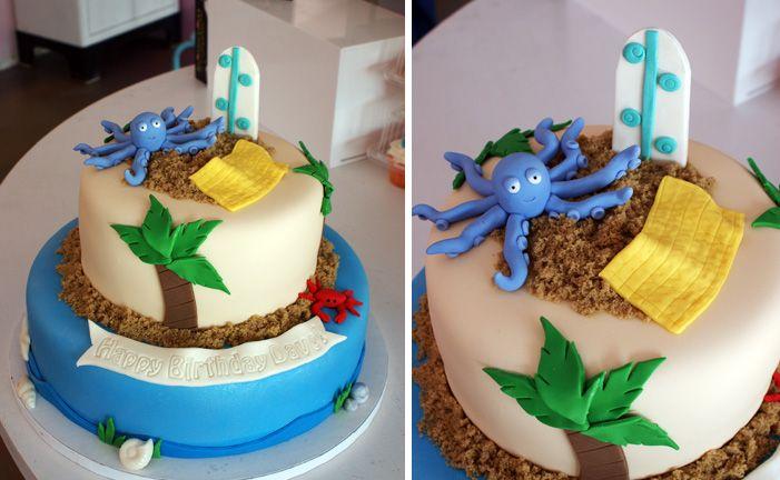 Beach Cake | Oklahoma's Premier Wedding Cake Designer and Sugar Artist