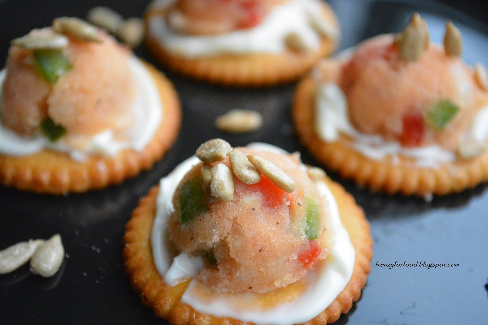 Food Frenzy....!!:        Cracker poppers