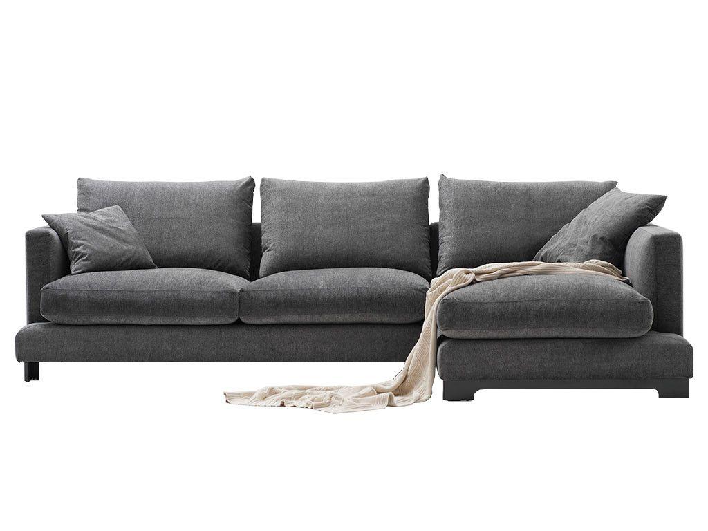Lazzoni Furniture Tempopigro Sectional Modern Sofas