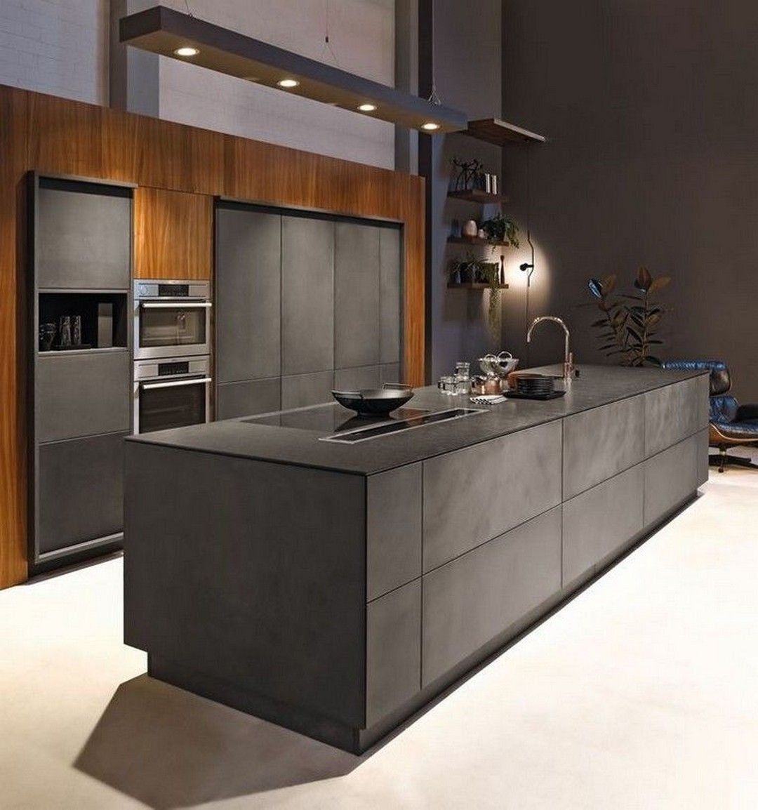 The 39 Best Black Kitchens Kitchen Trends You Need To See House Living Kitchen Design Styles Black Kitchen Island Luxury Kitchen Design