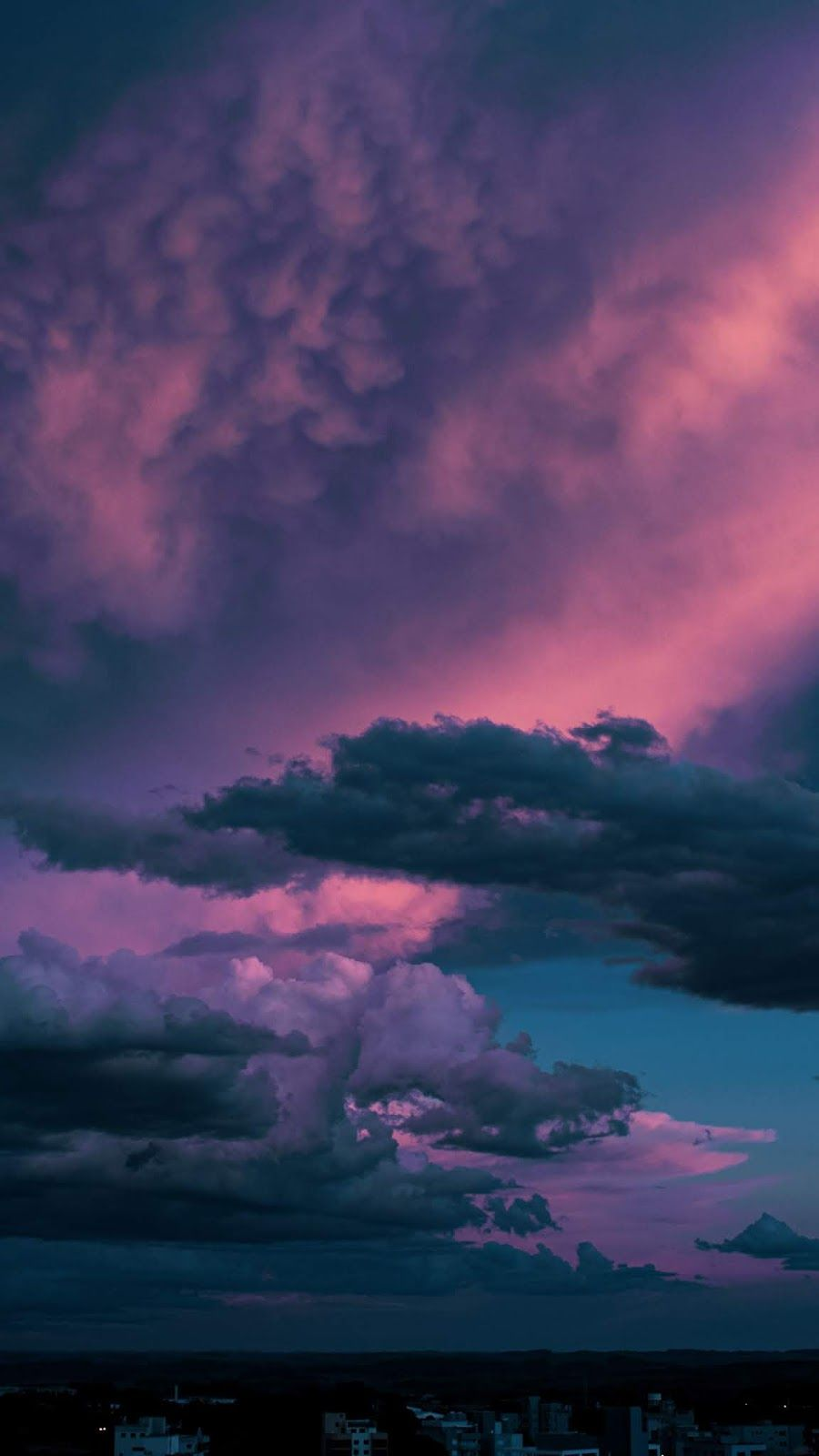 Dark Clouds In The Sky Anime Backgrounds Aesthetic Scenery Wallpaper Sky Aesthetic