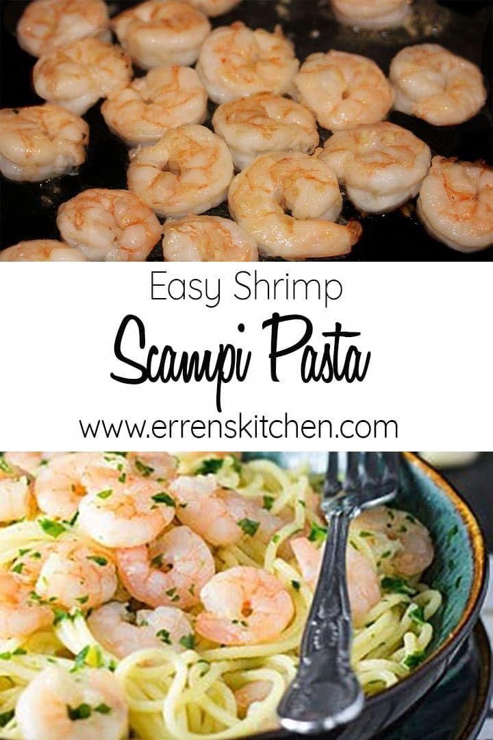 Seafood lovers will crave this classic Italian recipe for Easy Shrimp Scampi Pasta. It's packed full of flavor with garlic, butter, olive oil, and white wine – better than eating out and perfect for busy weeknights.