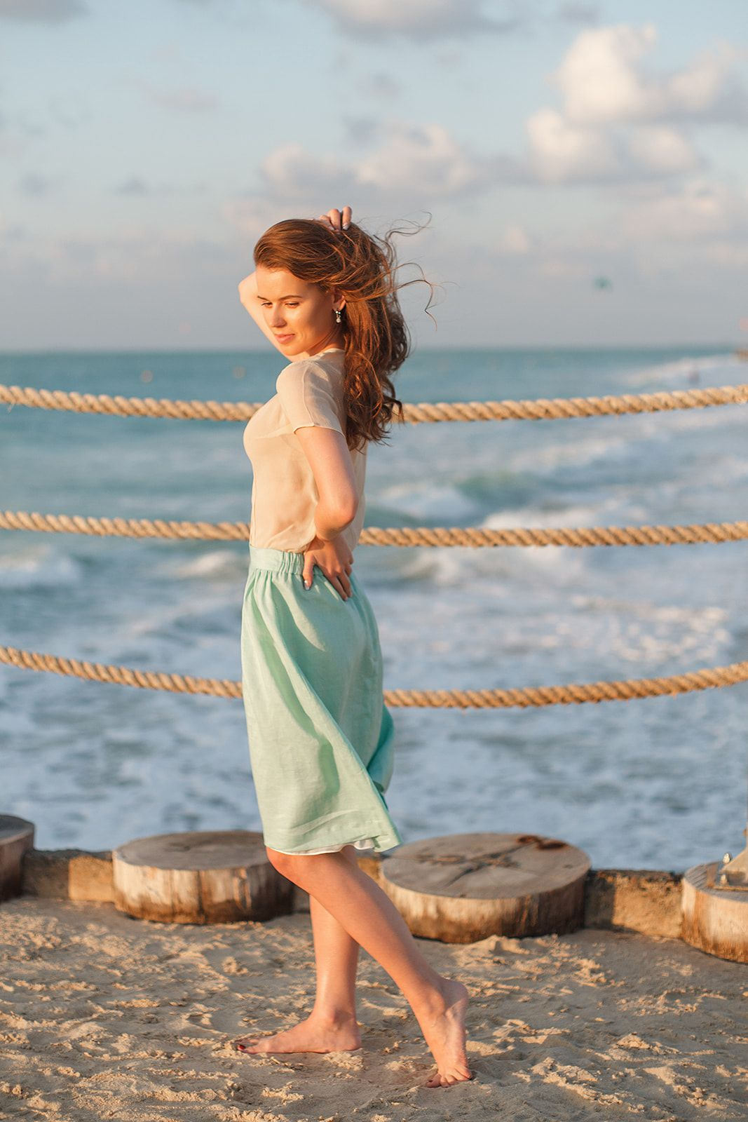 8a2ae8c9bf ... Eco-friendly clothing by Dressarte Paris. Effortless summer style that  you can wear on vacation and in the city. This pretty