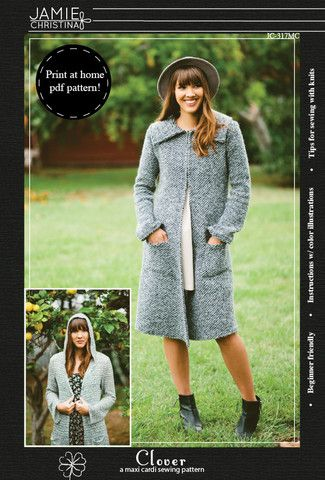 Clover e-pattern - Jamie Christina - Boutique style sewing patterns ...