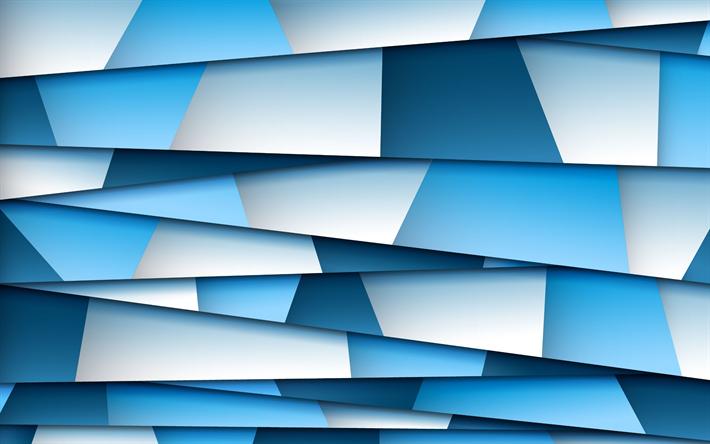 Herunterladen Hintergrundbild Mosaik Geometrie Abstrakt Textute