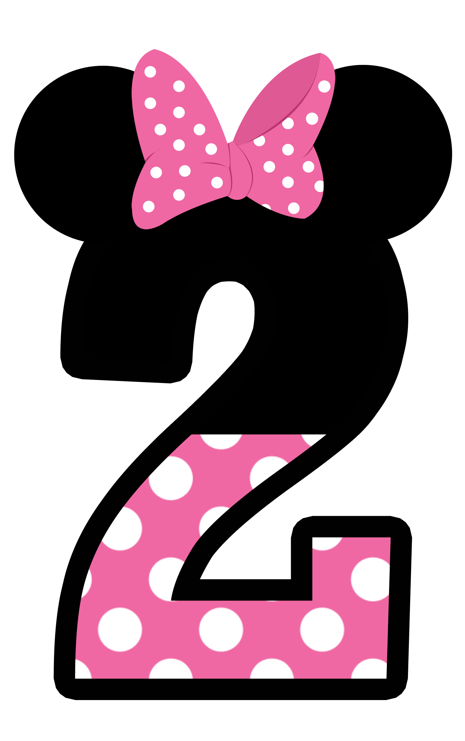 28 Collection Of Minnie Mouse 2nd Birthday Clipart
