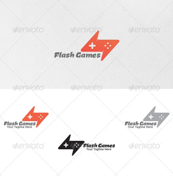 Flash games logo template flashlogo keynote template website powerpoint templates presentation toneelgroepblik Image collections