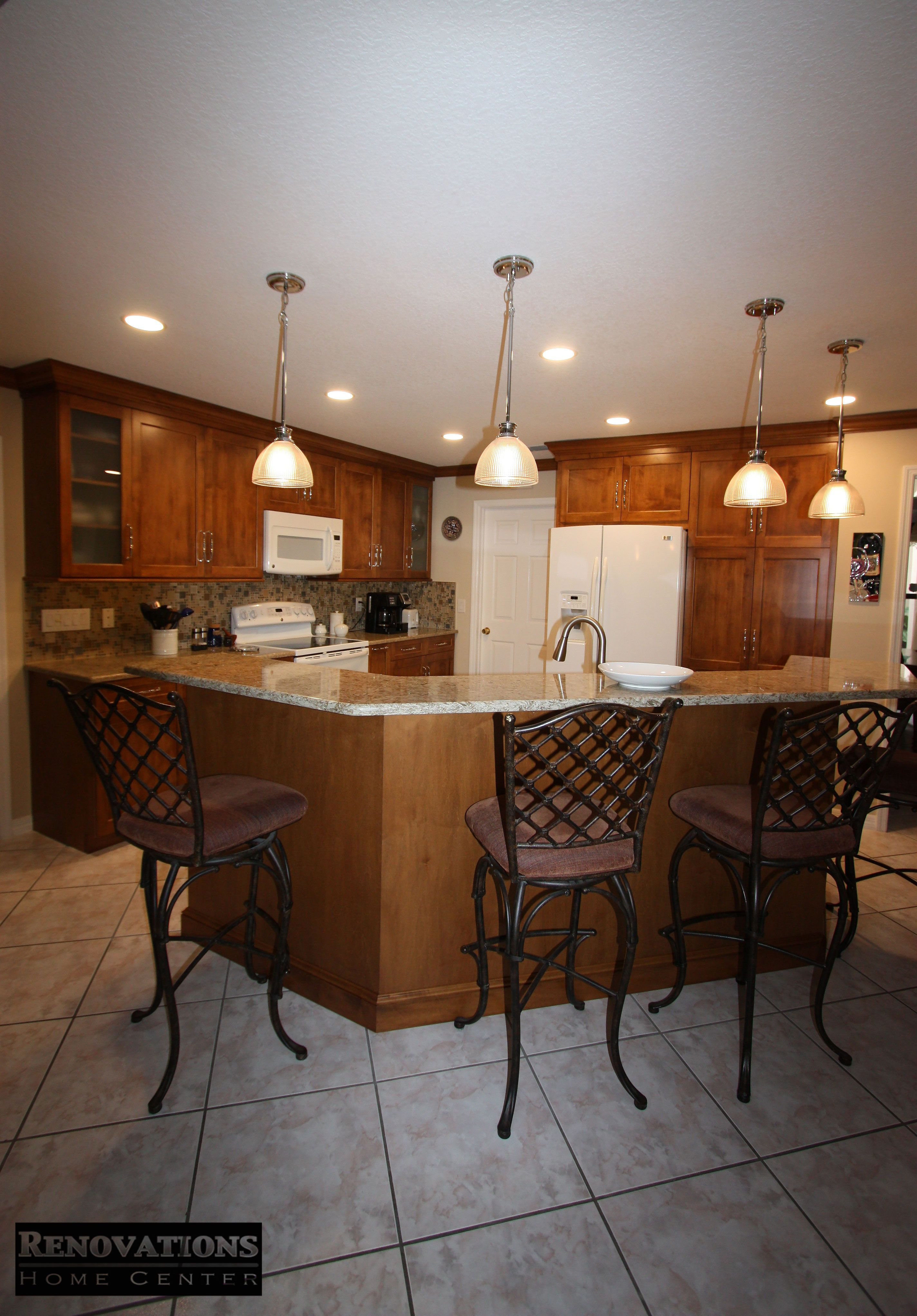 Our client in Palm Harbor wanted to refresh their kitchen ...
