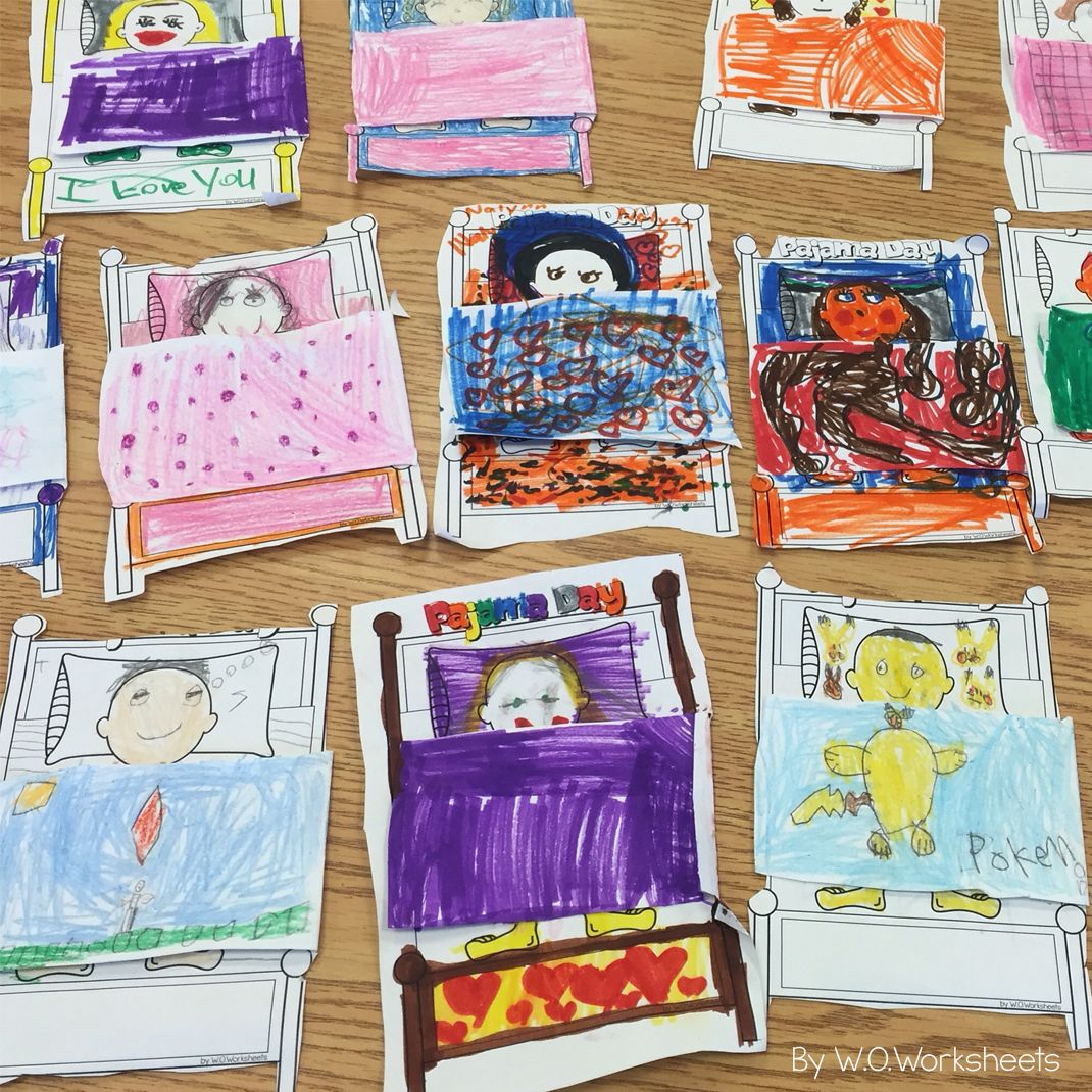 Pajama Day Activities And Craft Perfect Way To Celebrate