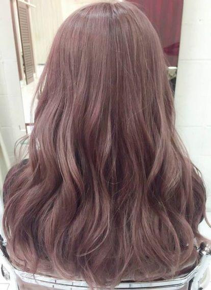 リアル ハイトーン透明感カラー グラデーションカラー Airly エアリー ヘアカラー ピンク 髪色 ピンク 髪 色