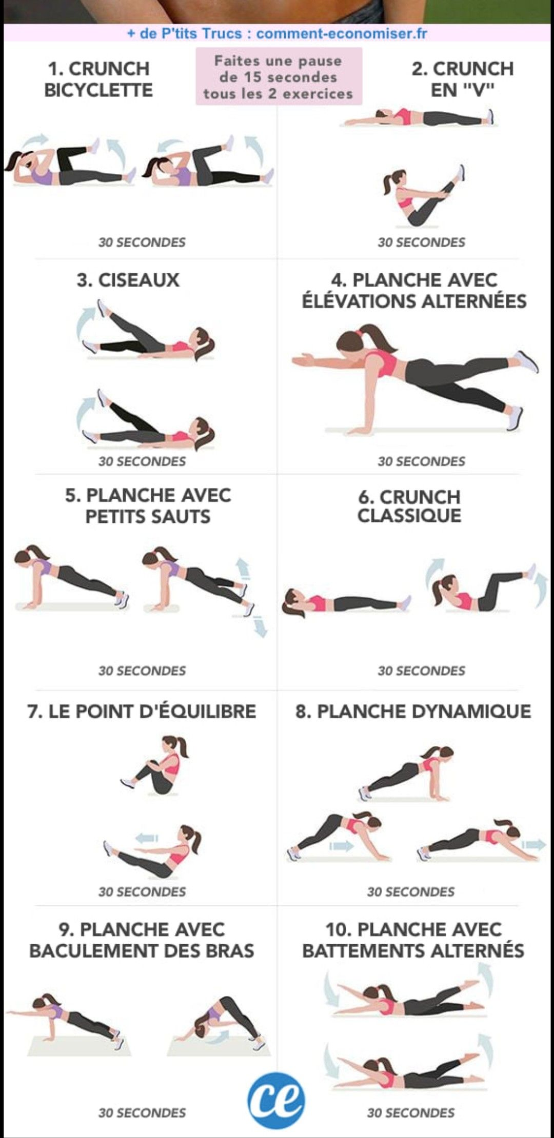 Pin By Catherine On Exercices Daily Exercise Routines Gym Workout Guide Workout Apps