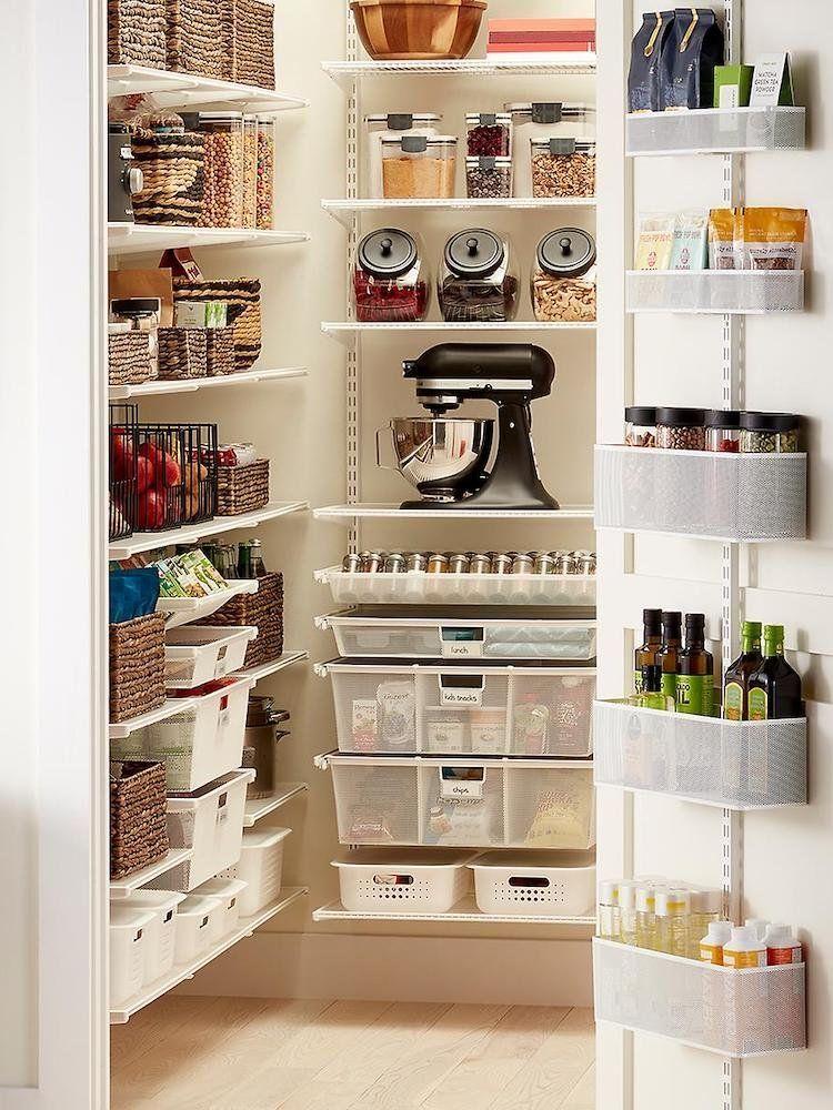 Storage Sanity 15 Ways To Organize A Pantry In 2020 Pantry