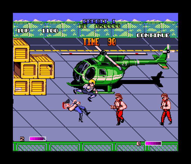 Double Dragon II: The Revenge (Commodore Amiga) | Commodore Amiga