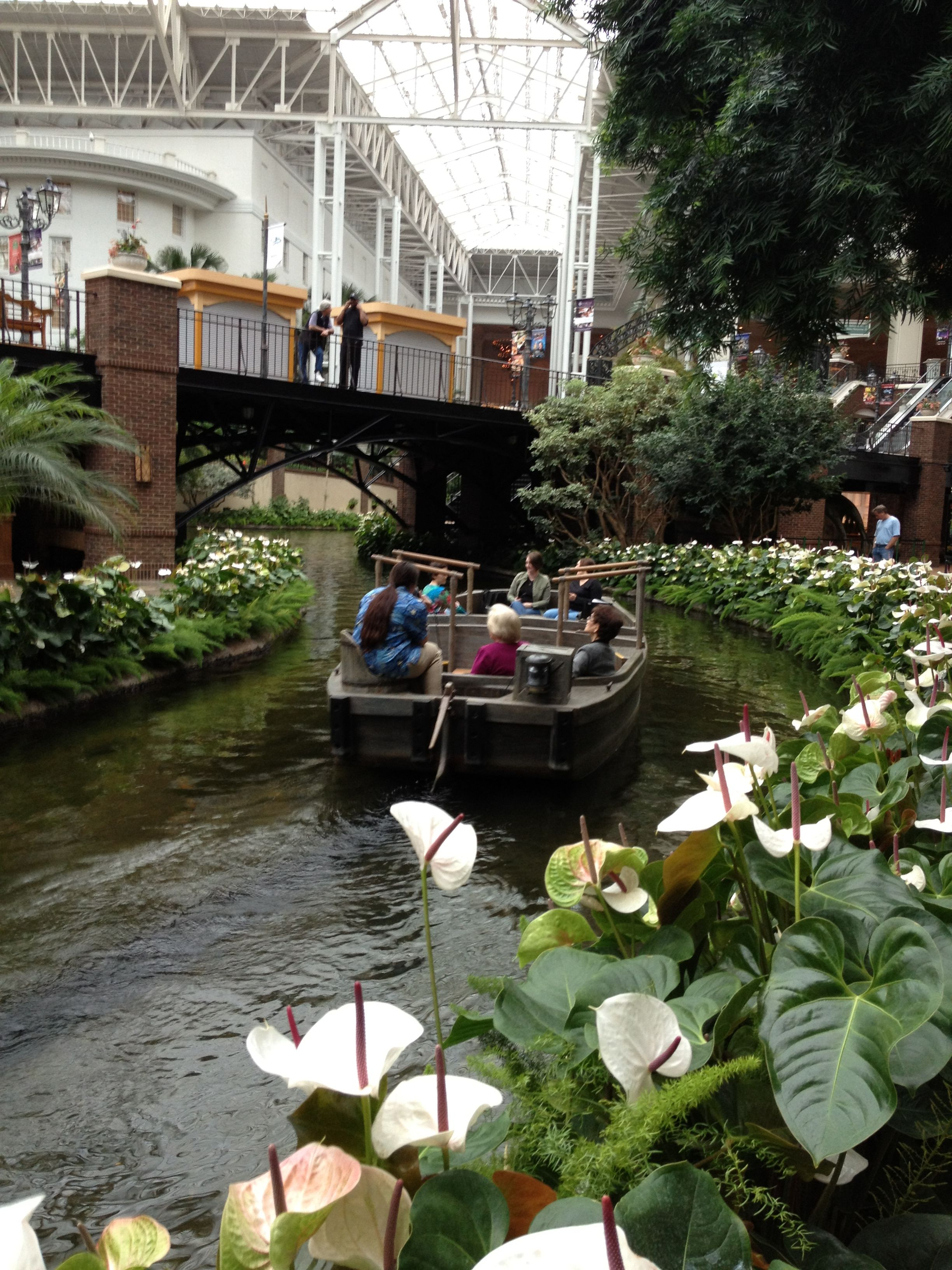 Nashville Fun For Families - Opryland Hotel boat ride