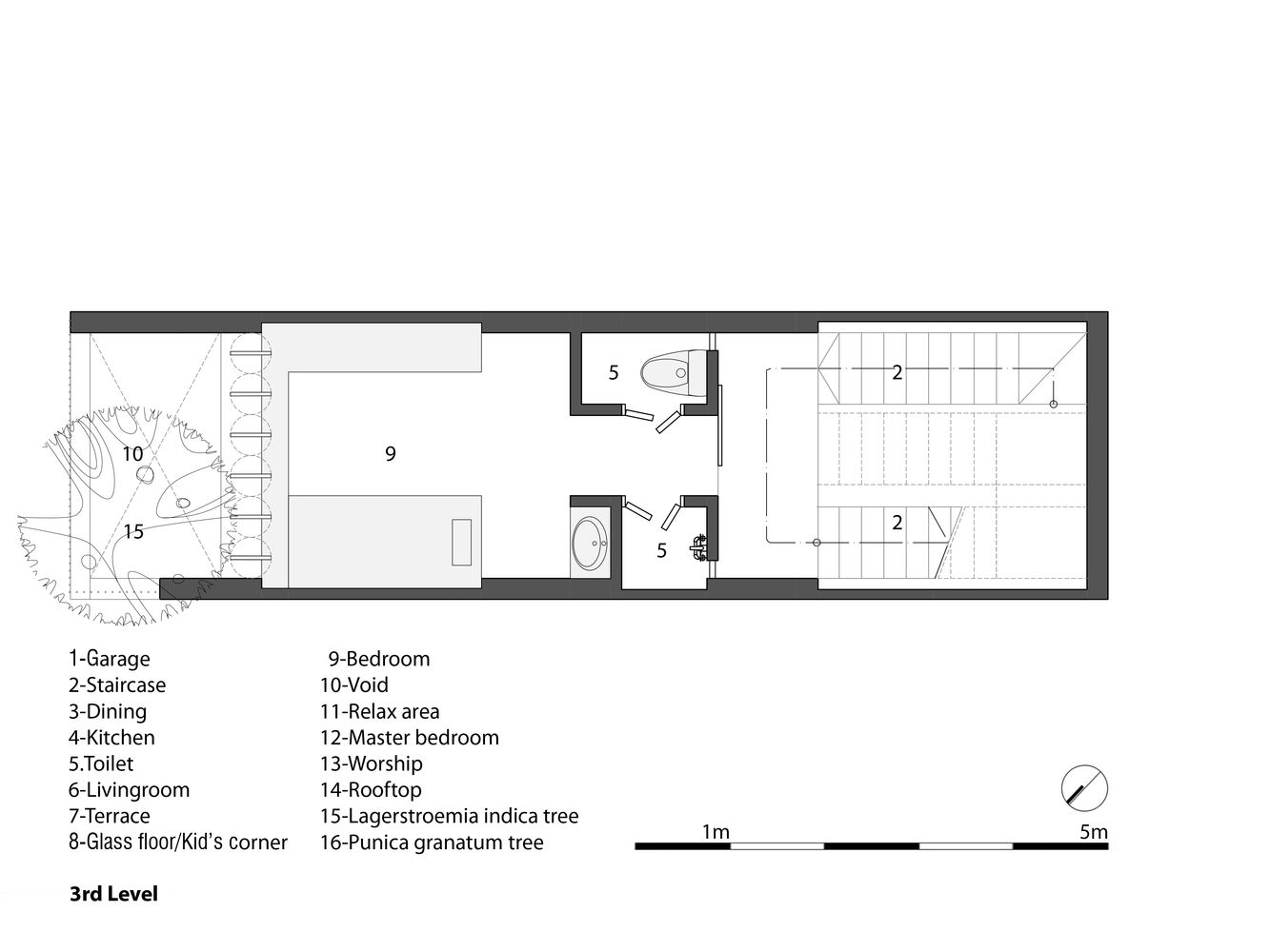 Gallery Of 3x10 House Ahl Architects Associates 23 Architect Floor Plans House