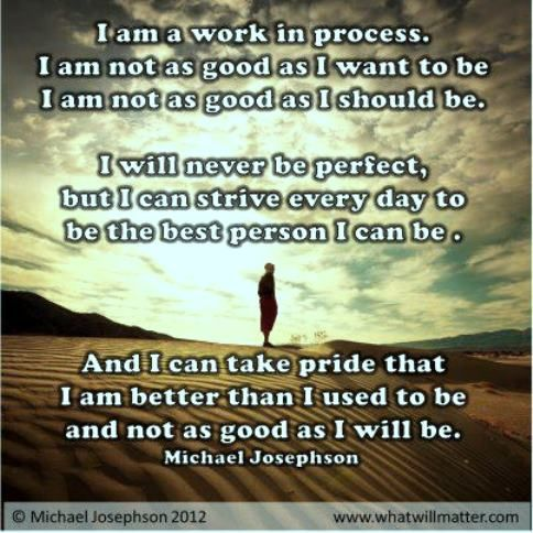 I Am A Work In Progress Healing Words Words Quotes Powerful Words