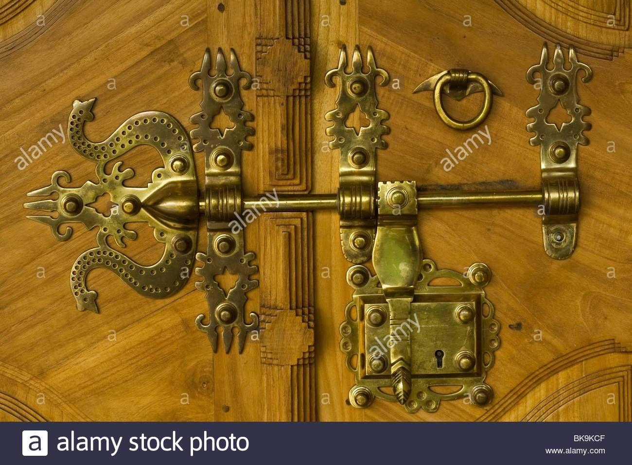 Antique Door Locks Wooden Doors Traditional Doors Brass Door
