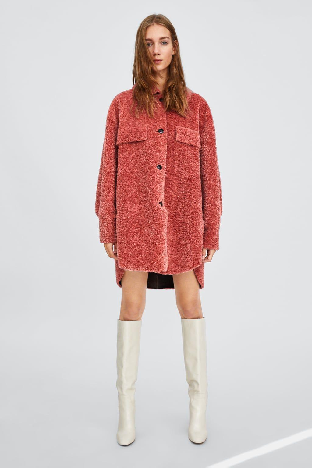 gran venta da1d3 453eb SOBRECAMISA BORREGUILLO   Clothes❤️ in 2019   Fall outfits ...
