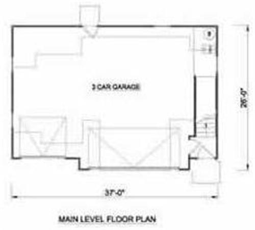 Beautiful 3 Car Garage Floor Plans And Design Ideas