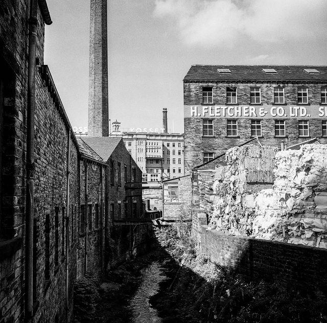 Garden Landscaping In Halifax Huddersfield West: Dean Clough Mills, Halifax In 2020