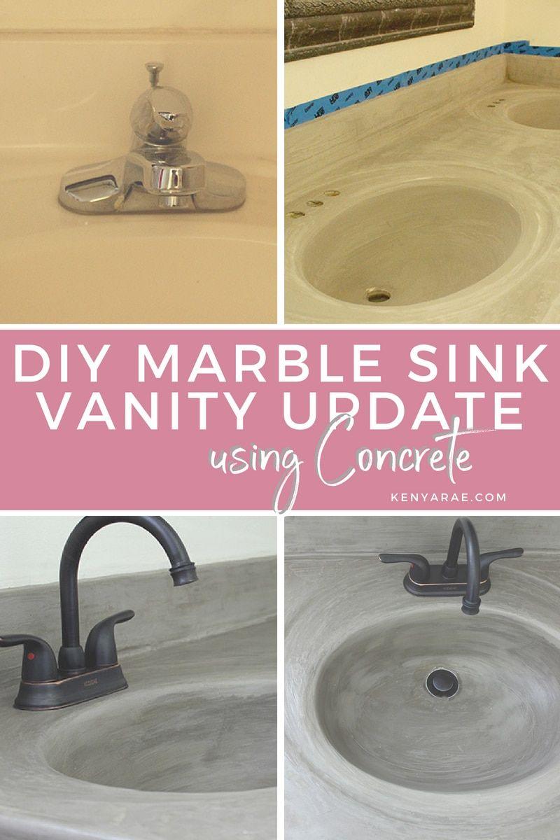 Diy Budget Friendly Bathroom Sink Update Bathroom Vanity