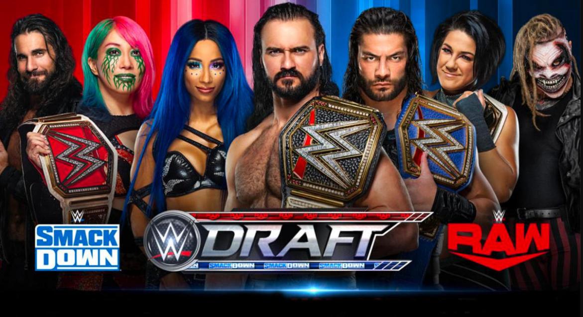 Who Won Draft 2020 Raw Or Smackdown Wwe Draft Wwe Wrestling News